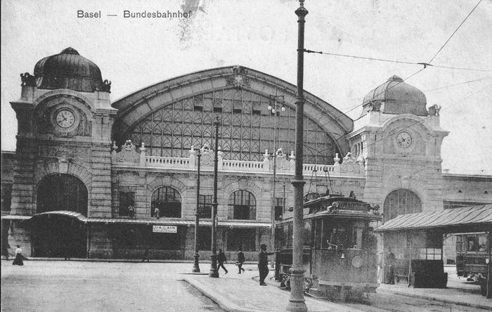 Centralbahnplatz 1907