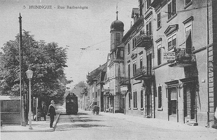 Rue Barbanègre um 1920