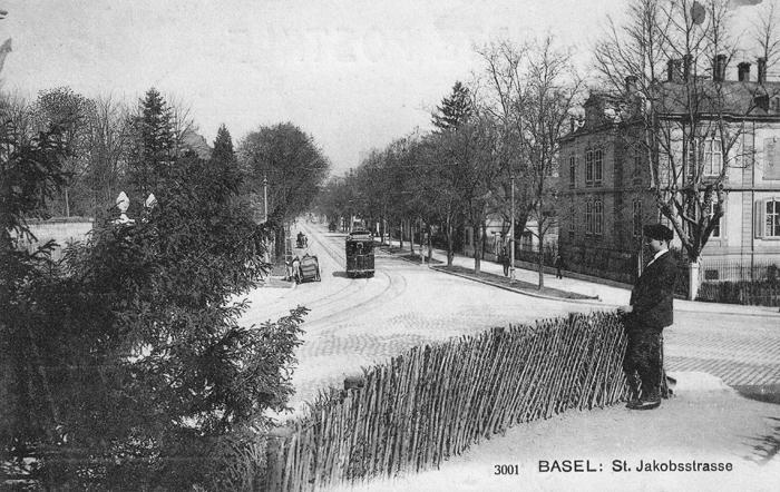 St. Jakobs-Strasse um 1906