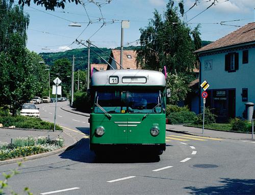 Trolleybuslinie 31