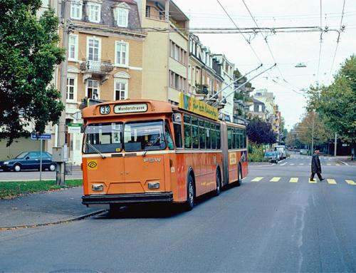 Trolleybuslinie 33