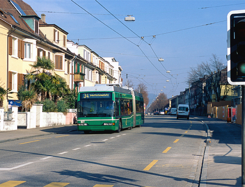 Trolleybuslinie 34