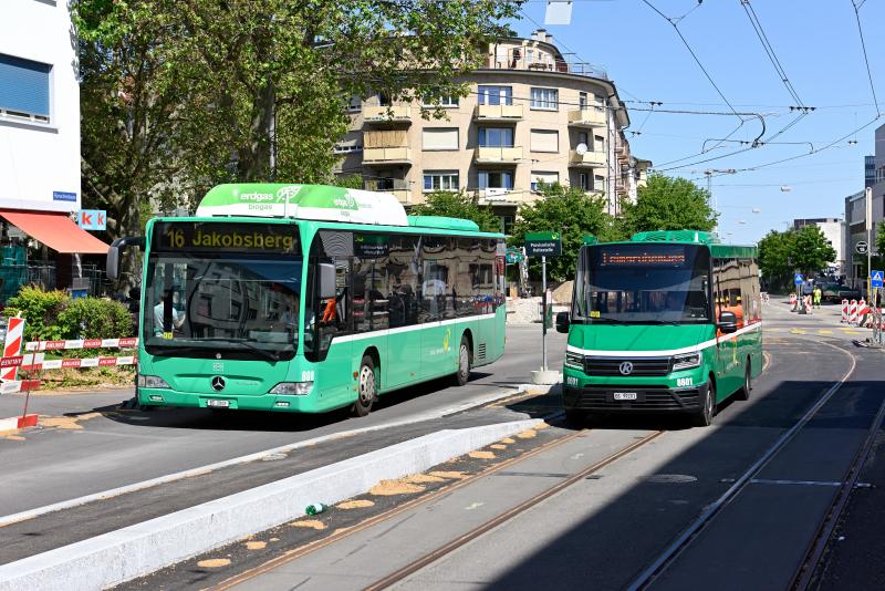 K-Bus City VIII Nr. 8601 und MB O 530 CNG Citaro FL Nr. 808
